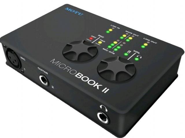 Test: MOTU MicroBook 2