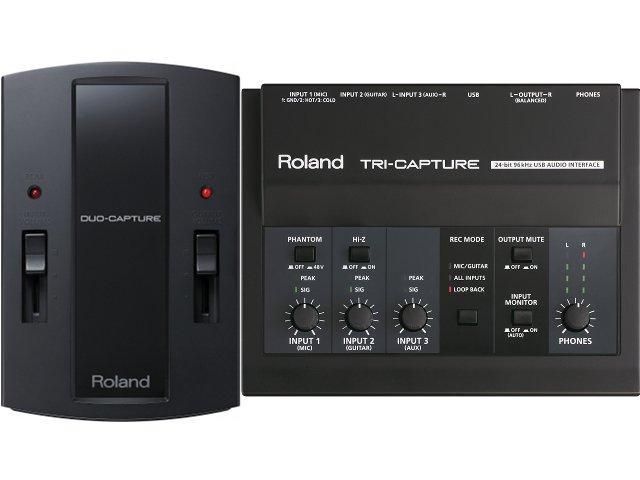 Roland Tri-Capture und Duo-Capture ab sofort lieferbar