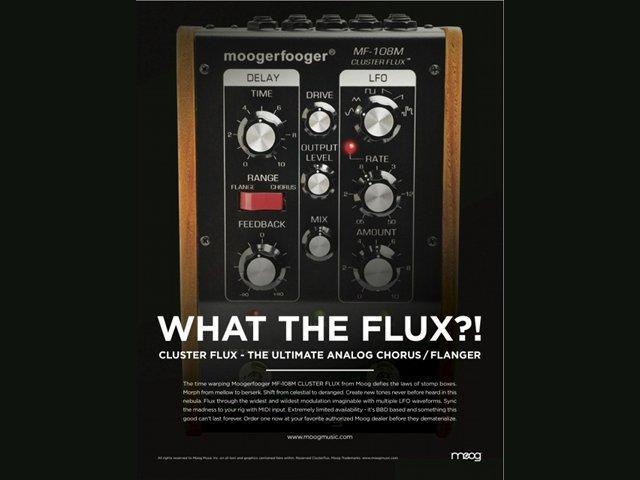 Moog kündigt MF-108M Cluster Flux an