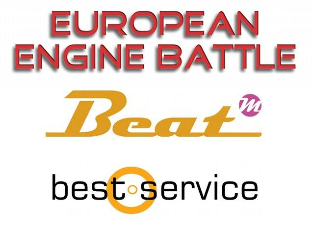 Beat & Best Service präsentieren: European Engine Battle