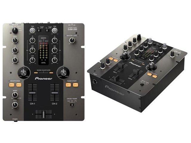 Pioneer DJM-250: Solider DJ-Mixer zum attraktiven Preis
