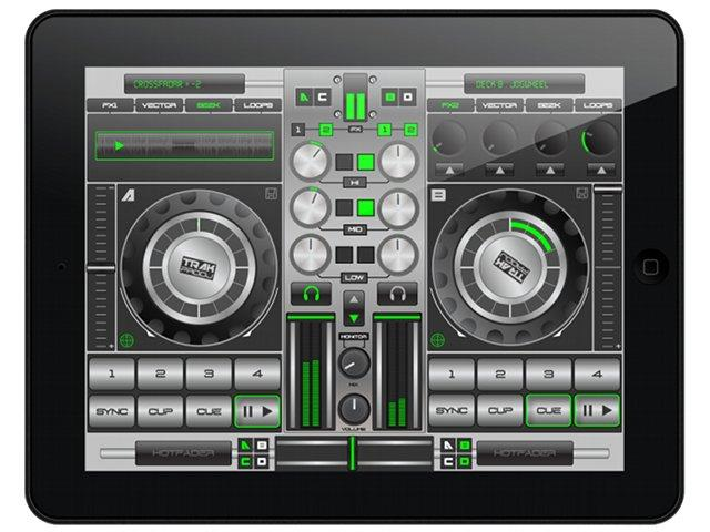 TrackProDJ Deluxe Edition: Volle Kontrolle mit dem iPad