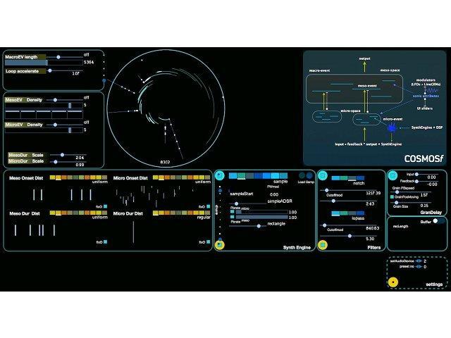 Sound-Landschaften erzeugen mit sonicLAB Cosmosf