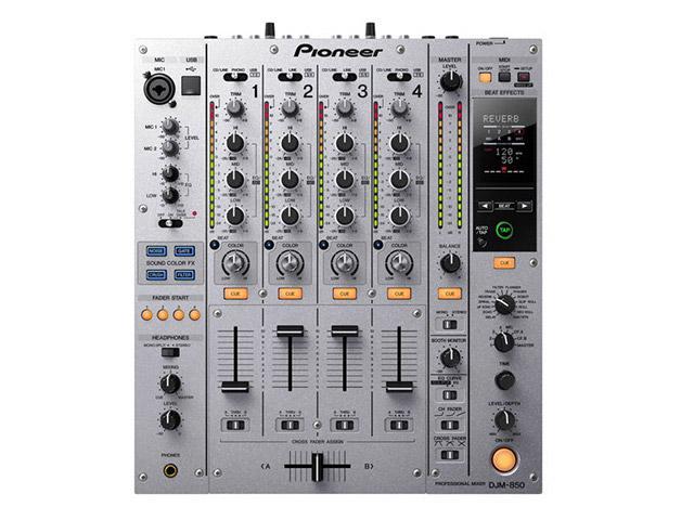 Pioneer DJM-850: Traktor-zertifizierter DJ-Mixer
