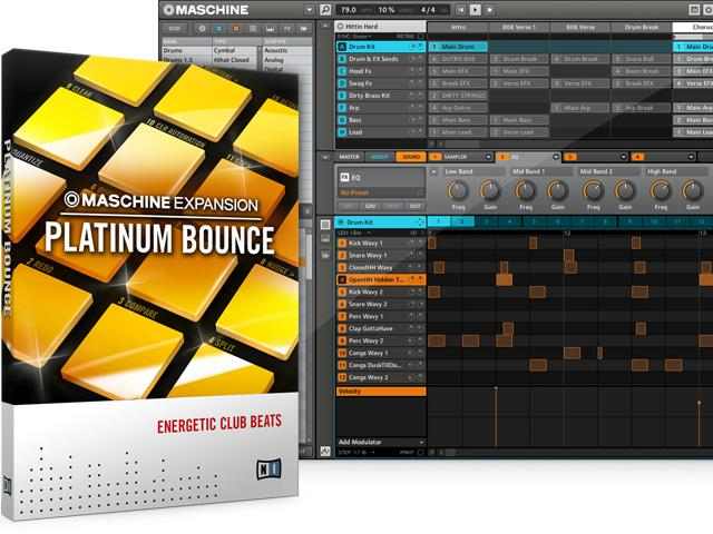 Platinum Bounce - Urban Music Pack für Maschine