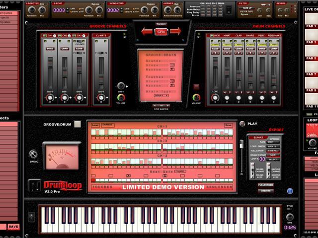 NTS Audio Labs Drum Loop 2 - Intelligente Beatmaschine