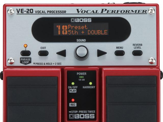 Boss VE-20 Vocal Performer mit Looper