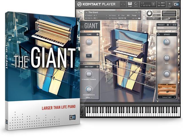 The Giant - das Klavins-Piano 370i für den Kontakt