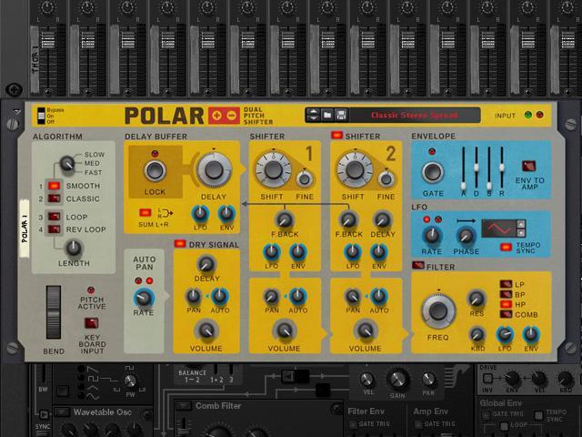 Polar Rack Extension von Propellerhead