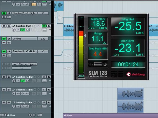 Steinberg SLM 128 Loudness Meter - kostenlos zum Download