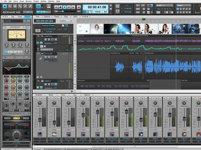 Cakewalk Sonar X2 - Audio/Midi Sequenzer