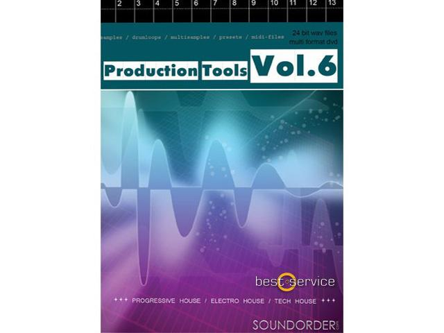 Soundorder Production Tools Vol.6 - Sample-DVD
