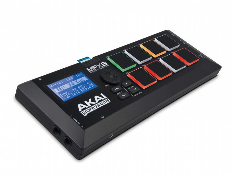 MPX8 - Kompakter Sampler von Akai