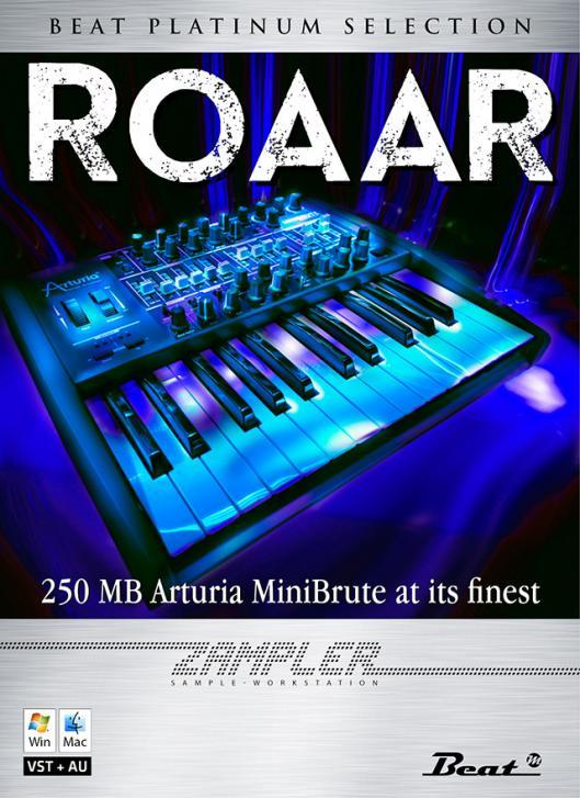 Roaar: 250 MB Sounds aus dem MiniBrute