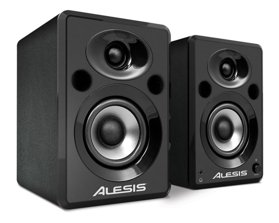 Elevate 3 & Elevate 5 – aktive Studiomonitore von Alesis