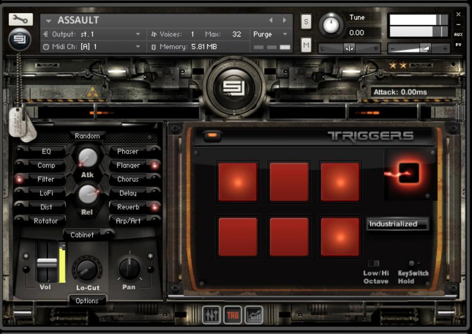 Sample Logic stellt Kontakt-Instrument Assault vor