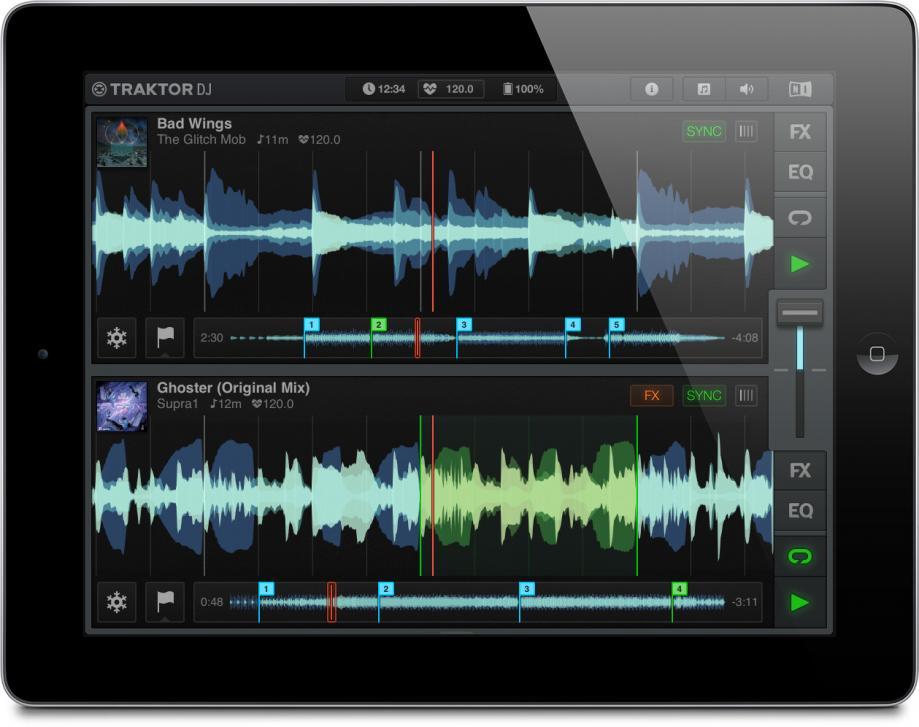 Traktor DJ - NI bringt den Klassiker auf's Tablet