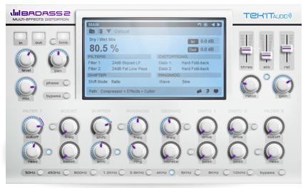 Tek'it Audio Badass 2 - Multieffekt für's Grobe