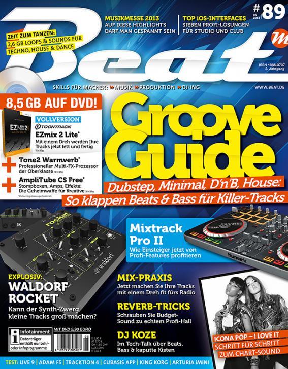 Beat 05/13 mit Goove Guide erhältlich
