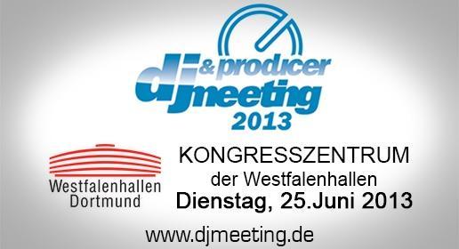 DJ-Meeting am 25. Juni in Dortmund