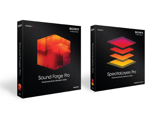 Sound ForgePro 11 & Spectral Layers 2