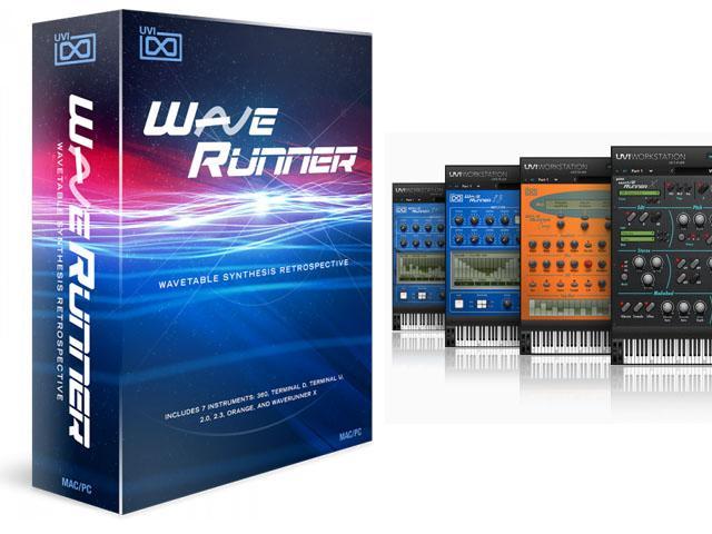 UVI Wave Runner - Wavetable Synthese mal sieben