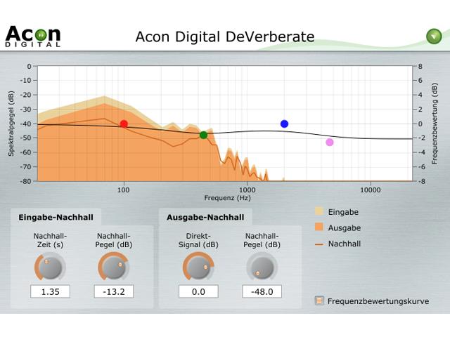 Acon Digital DeVerberate - Enthaller
