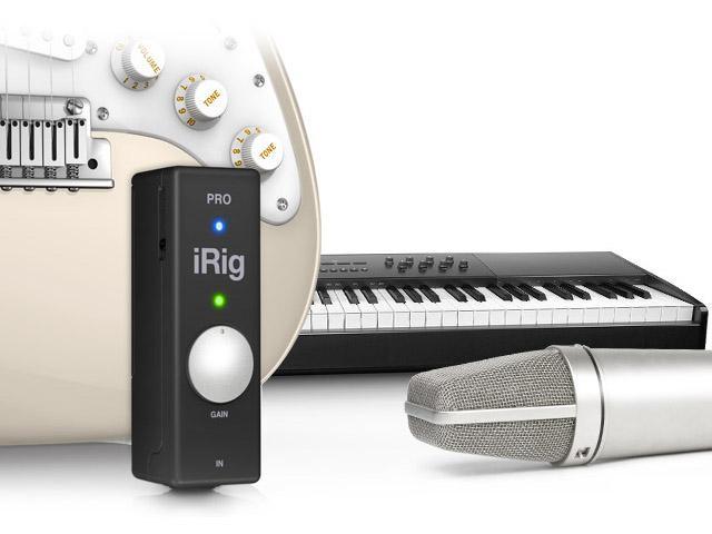 IK Multimedia iRig PRO - Midi/Audio Interface für iOS