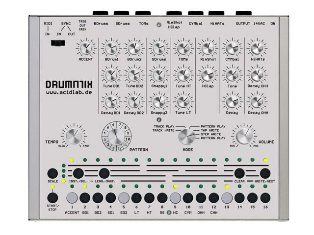 Acidlab Drumatrix - Hardware Drummachine