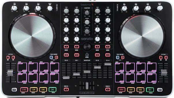 Der Beatmix 4 überzeugt durch seine großen Dimensionen und die aufgeräumte Bedienoberfläche.