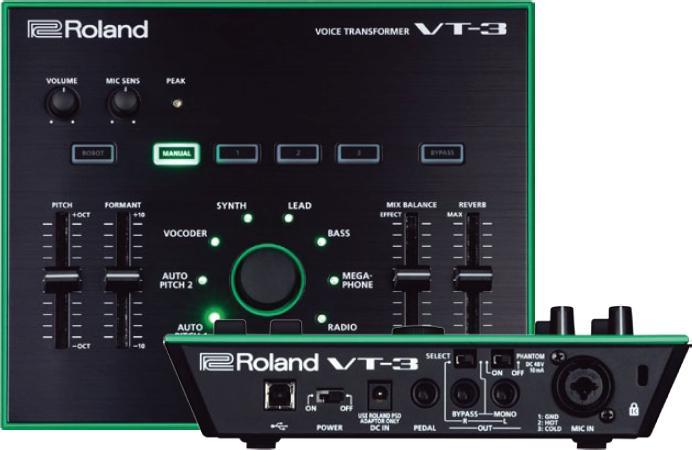 Mit dem VT-3 bringt Roland einen kompakten Voice Transformer. Die Geheimwaffe für Vokalisten?