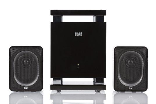 Edles Design, winzige Maße und ein brillanter Klang zeichnen das MicroMagic 2.1 von Elac aus!