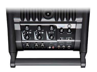 Mit Mikrofon-, Instrumenten- und Line-Eingängen wird ein Mischpult vielerorts überflüssig.