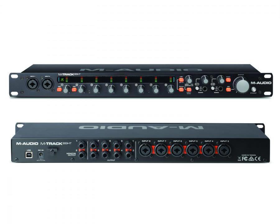 M-Track Eight - 8-Kanal Audiointerface von M-Audio