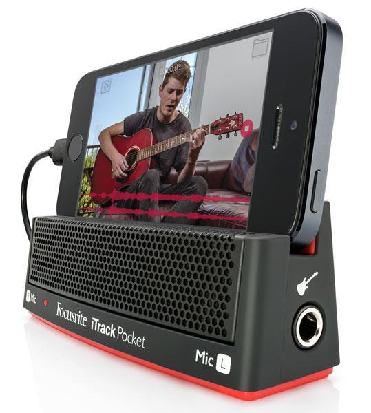 iTrack Pocket - Kompaktes iPhone-Audiointerface