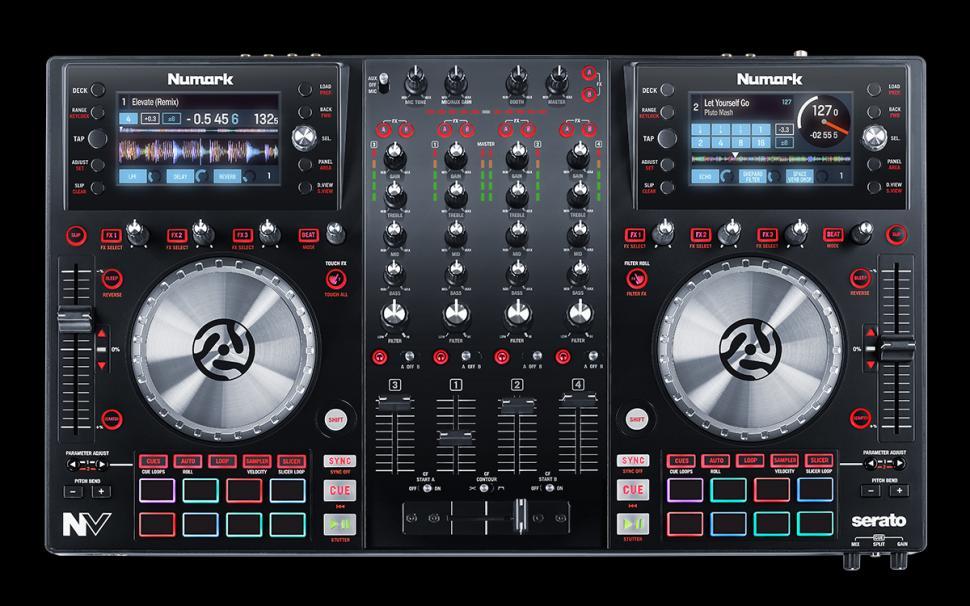 Numark NV - 4-Kanal Controller für Serato DJ