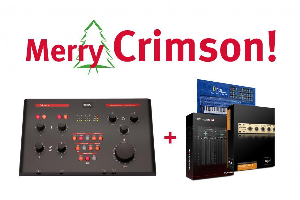 Crimson USB Audio Interface mit extra Software