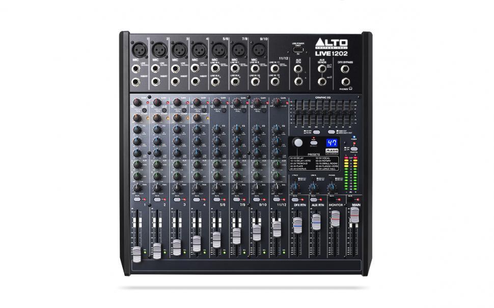 Alto Professional Live-Serie - 2- und 4-Bus-Mischpulte