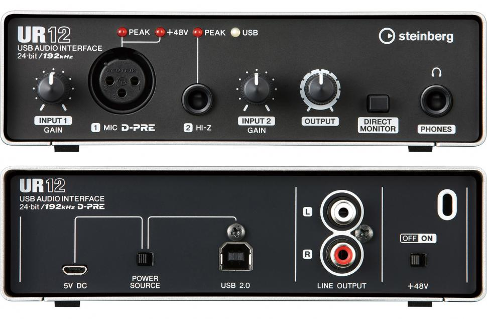 Steinberg UR12 - Audio-Interface