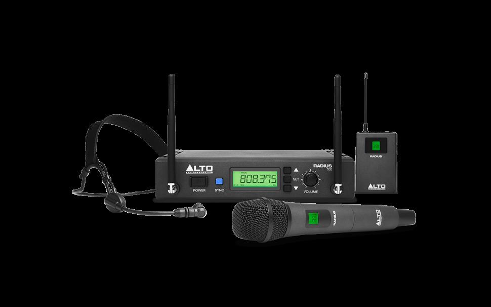 Alto Professional Radius - Wireless Mikrofone