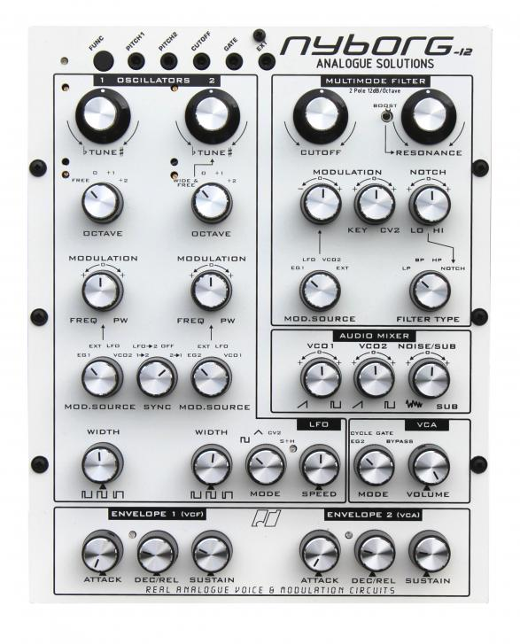 Analogue Solutions Nyborg - Analoger Mono-Synthesizer