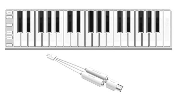 CME Xkey37 - Ultraflaches Midi-Keyboard