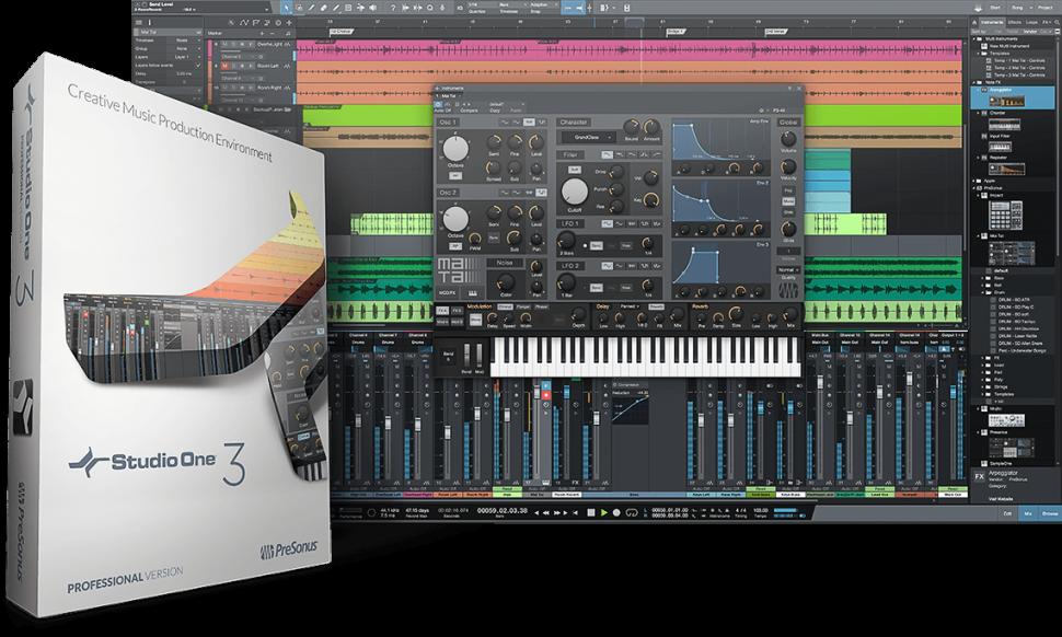 Presonus Studio One 3 - DAW für Win + OS X
