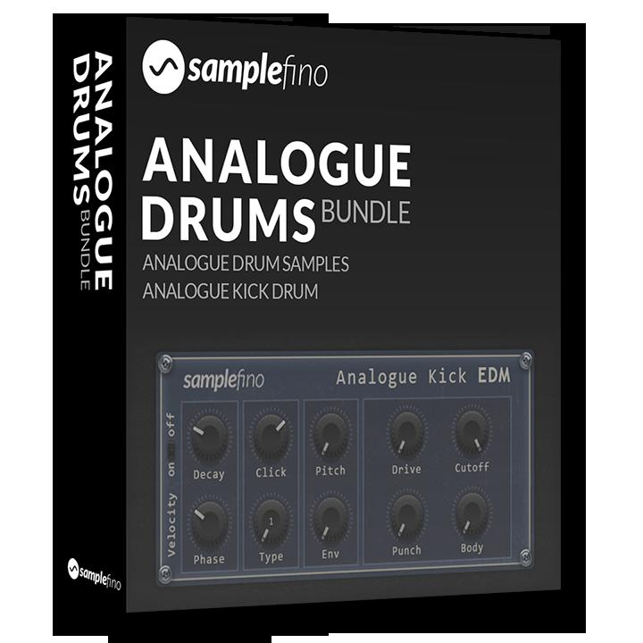 Samplefino Analogue Drums - Drumkits und Kick-Synth