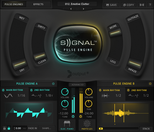 Output Sounds Signal - Instrument für NI Kontakt