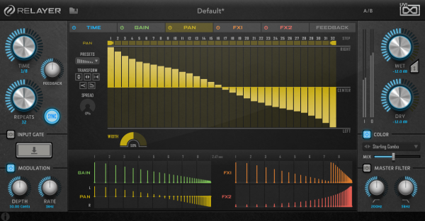 UVI Relayer - Multitap-Delay Plug-in