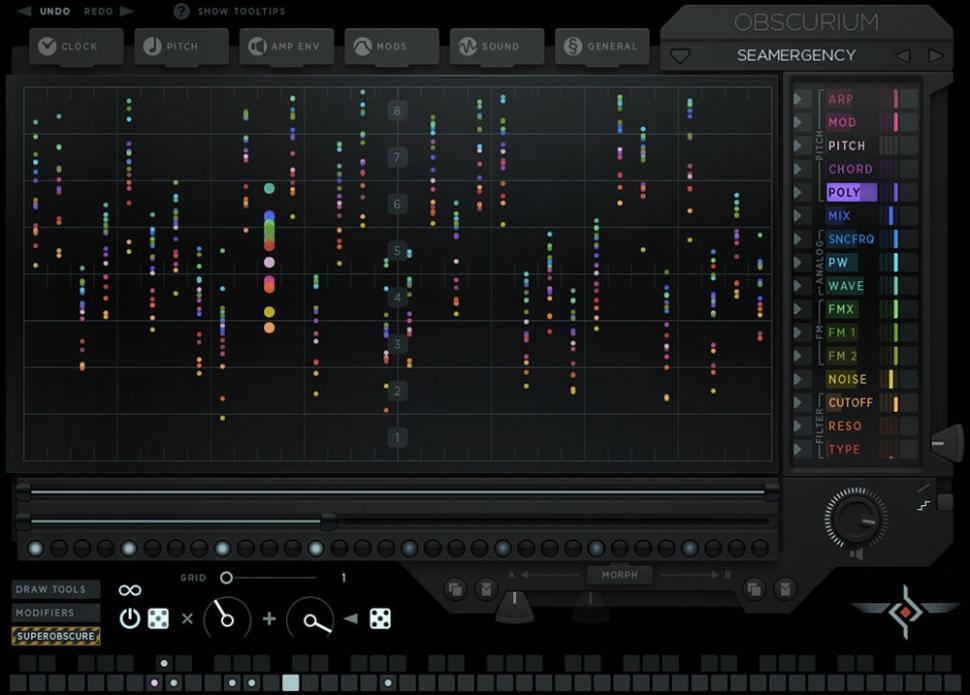 Sugar Bytes Obscurium - Synthesizer-Plug-in