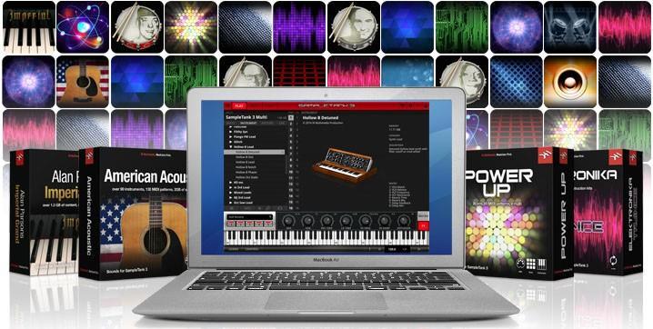 IK Multimedia Custom Shop für SampleTank 3