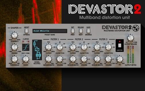 D16 Devastor - Distortion Plug-in   Beat