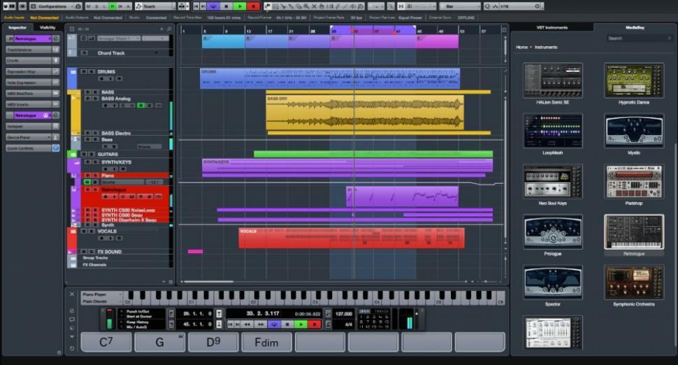 Cubase Pro 8.5 und Cubase Artist 8.5 - DAW Update